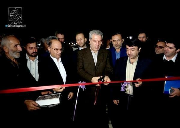 افتتاح و شروع عملیات اجرایی 7 پروژه گردشگری با حضور مونسان