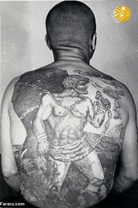 خالکوبی های عجیب و غریب زندانیان در شوروی
