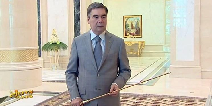 حضور بردی محمداف در تلویزیون ملی ترکمنستان