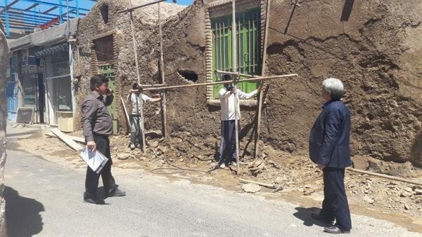 آغاز مرمت 4 بنای تاریخی در شهرستان بردسکن