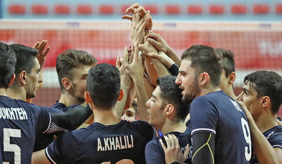 والیبال نوجوانان دنیا؛ یک برد و یک باخت برای تیم ایران