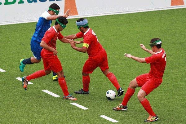 حضور تیم فوتبال 5 نفره در انتخابی پارالمپیک بدون دیدار تدارکاتی