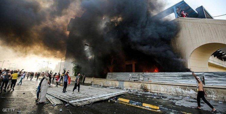 تظاهرات ضد دولتی روز سه شنبه در عراق یک نفر کشته و 200 نفر زخمی به جا گذاشت
