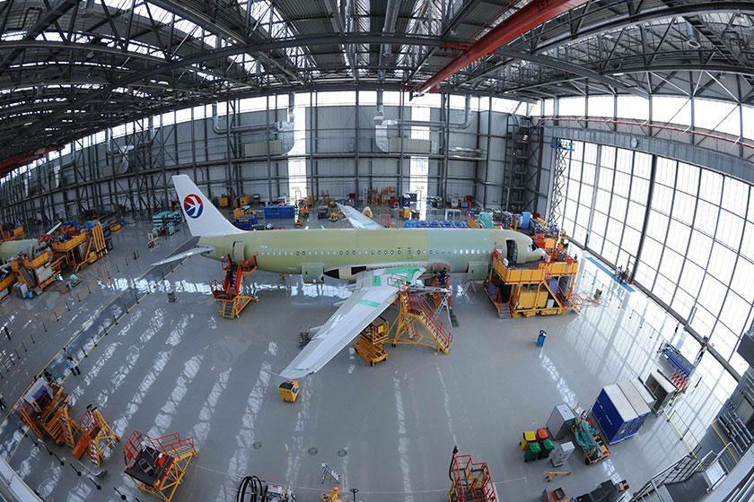 افتتاح نخستین مرکز تکمیل و تحویل هواپیما در چین توسط ایرباس