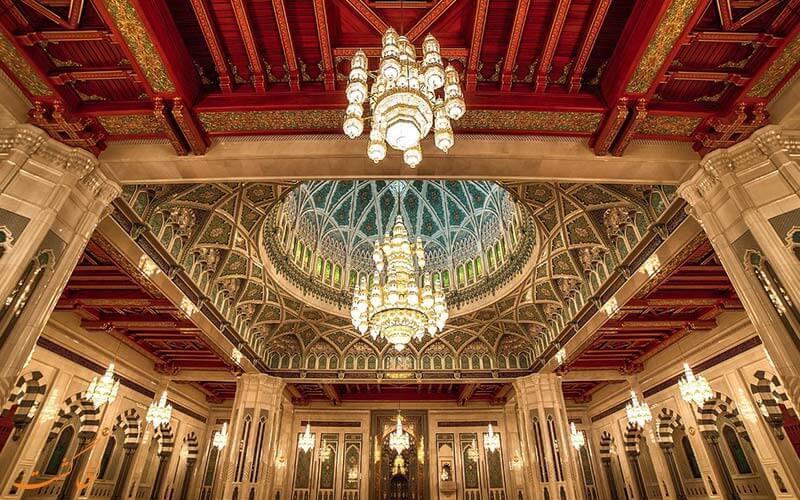مسجد سلطان قابوس عمان، شاهکار معماری ایرانی