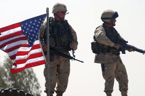 خروج نظامیان آمریکایی از منبج به سمت عراق
