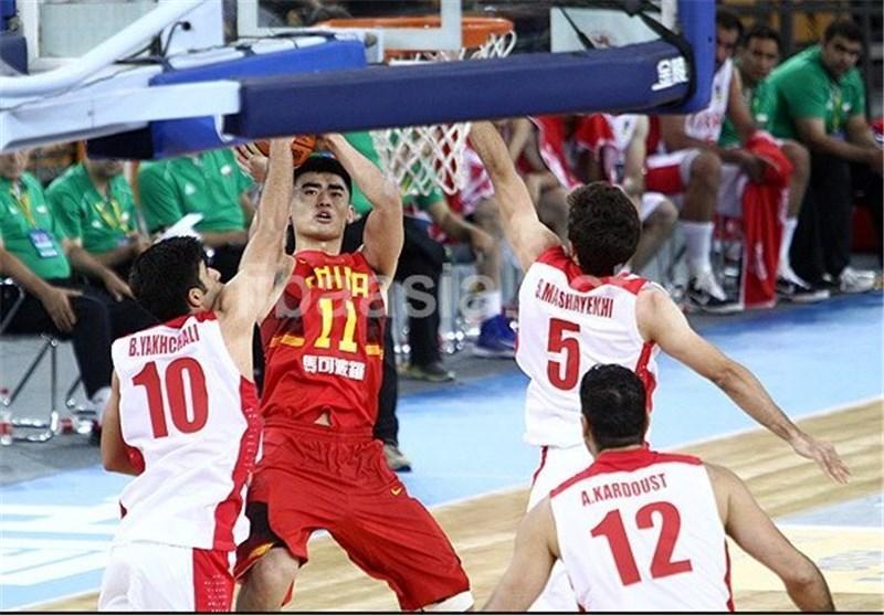 تیم ملی بسکتبال، حریفش چین را شکست داد، تثبیت حضور در نیمه نهایی به عنوان صدرنشین
