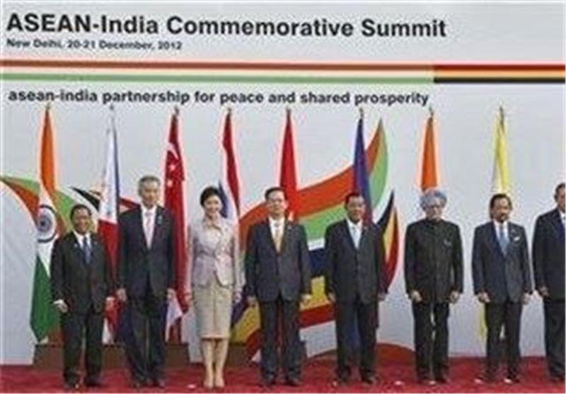 گسترش همکاری های امنیتی دریایی اتحادیه کشورهای جنوب شرقی آسیا با حضور هند