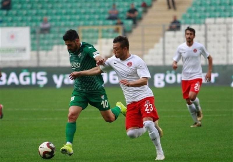 لیگ دسته اول ترکیه، شکست خانگی استانبول اسپور با حضور 27 دقیقه ای صیادمنش