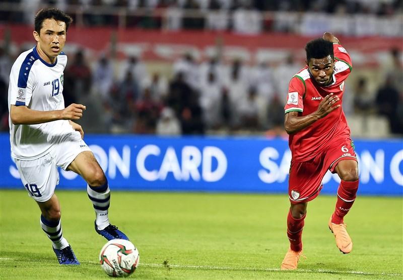 فزونی کامل عمان مقابل ازبکستان در آمار با وجود شکست