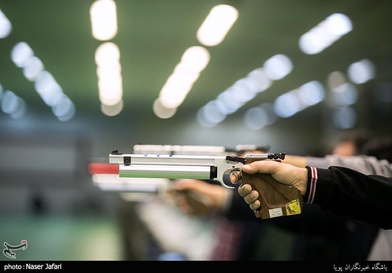 تیراندازی قهرمانی آسیا، ششمی جواد فروغی در تپانچه 25 متر، تیم ایران چهارم آسیا شد