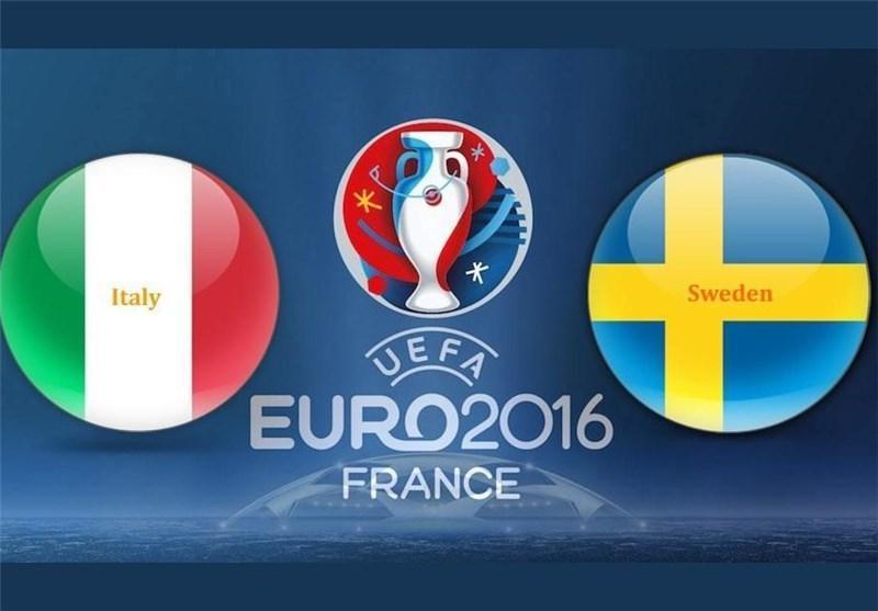 اعلام ترکیب ایتالیا و سوئد
