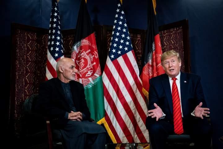 سفر غیر منتظره ترامپ به افغانستان، اشرف غنی به دیدار ترامپ رفت!