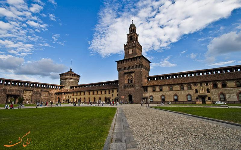 قلعه اسفورزا، قلعه ای تاریخی در میلان