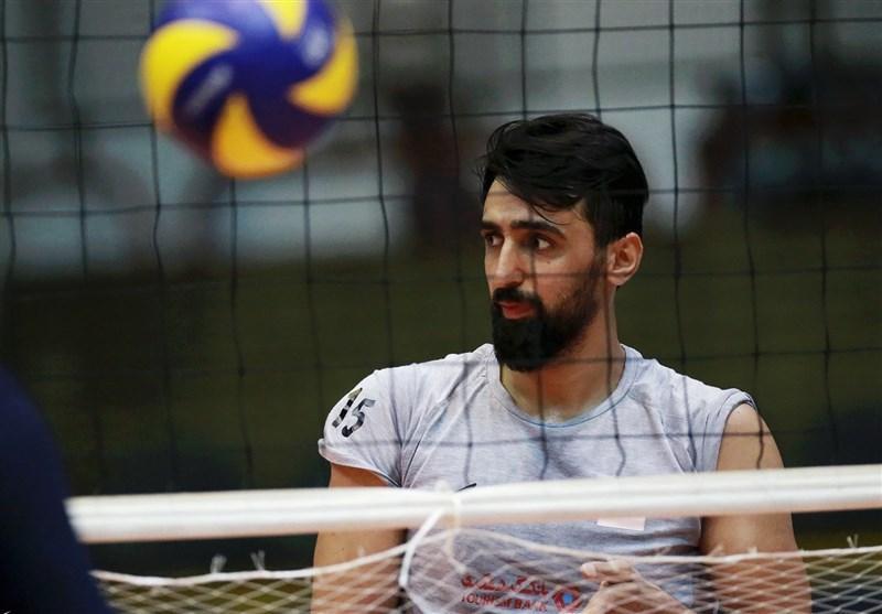 فیاضی به اردوی تیم ملی والیبال ملحق شد