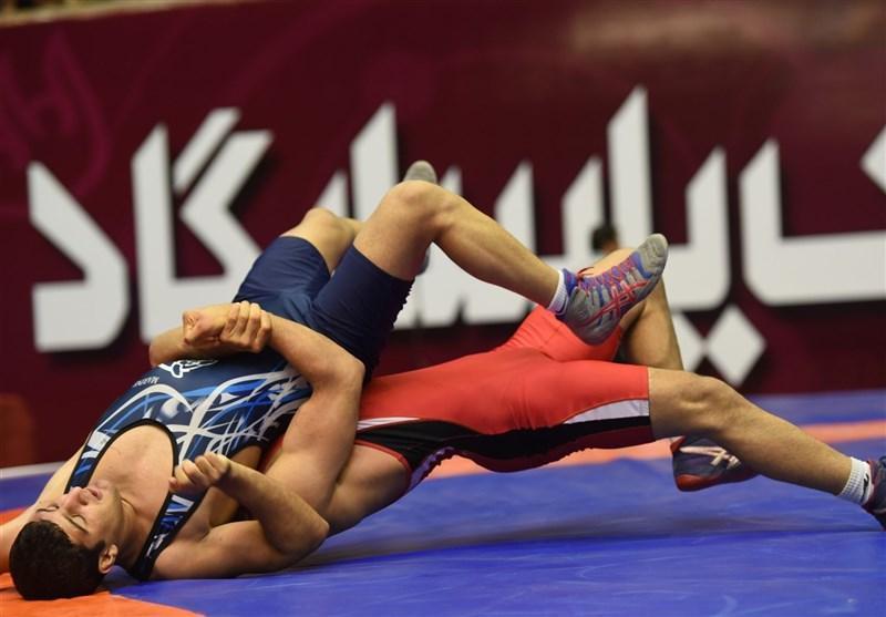 برگزاری مراسم وزن کشی 7 وزن کشتی فرنگی نوجوانان قهرمانی آسیا