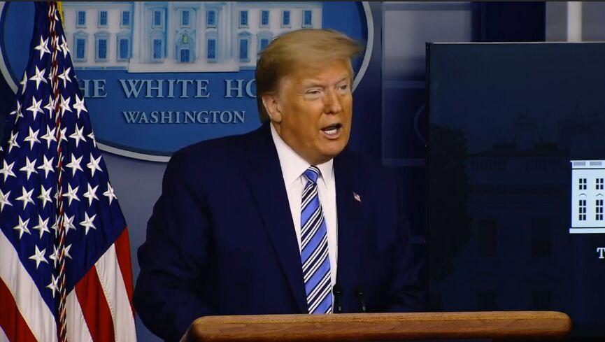 خبرنگاران ایران هراسی ترامپ برای مقابله با بایدن