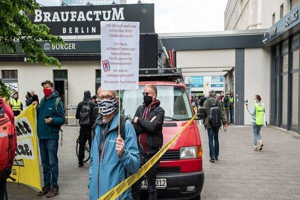 تظاهرات ضدنژادپرستی در برلین و 10 شهر دیگر آلمان برگزار گردید