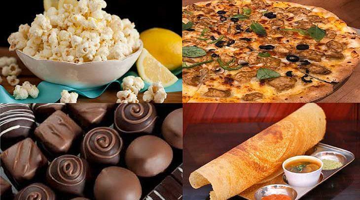 خوردنی های محبوب دنیا، تصاویر