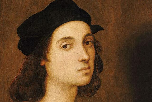 بازسازی چهره رافائل نقاش مشهور ایتالیایی