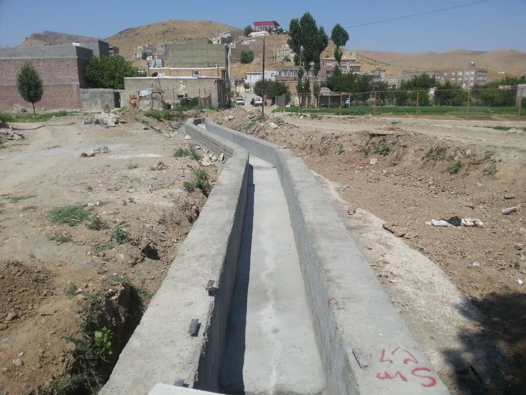 خبرنگاران افتتاح طرح حیاتی در روستای کوسه بوکان بدون استفاده از اعتبار دولتی