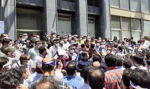 تجمع جانبازان شاغل در وزارت نفت، اعتراض به منفی شدن فیش حقوقی