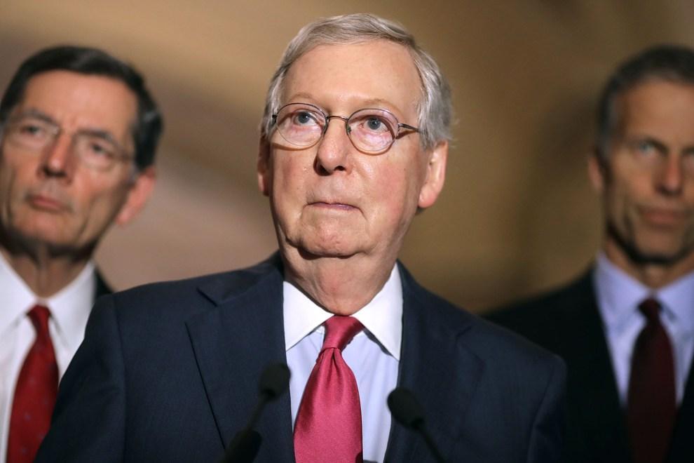 علت غیبت 2ماهه رهبر جمهوری خواستار سنا در کاخ سفید