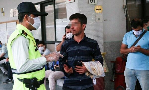 خبرنگاران پلیس برای استفاده نکردن از ماسک علاقه ای به اعمال قانون ندارد