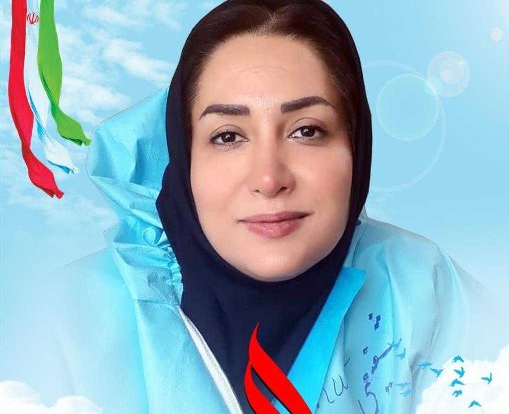 خبرنگاران سرپرستار بیمارستان نظرآباد آسمانی شد