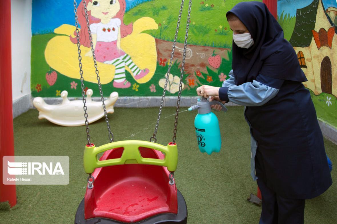 خبرنگاران کرونا 61 مهدکودک در قزوین را تعطیل کرد