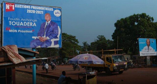 رای گیری در جمهوری آفریقای مرکزی زیر سایه خشونت ها