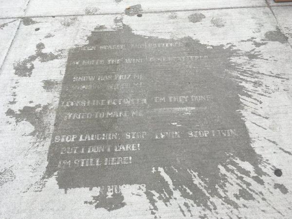 سفر به آمریکا: اشعار پنهان روی پیاده روهای بوستون، هنر و تزئینات شهری