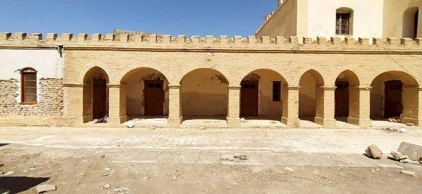 آغاز حفاظت شیمیایی از ساختمان قدیمی بانک ایران و انگلیس در زابل