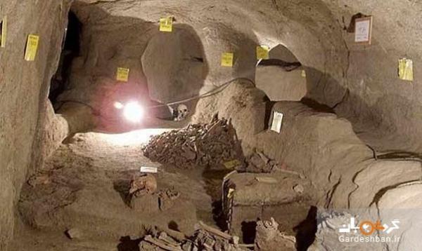 شهر پنهان یا زیرزمینی سامن در همدان