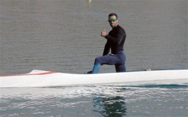 انتخابی قایقرانی المپیک؛ رضایی فینالیست شد