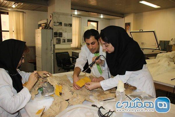 قدیمی ترین اشیای چرمی کشف شده در ایران بازسازی شدند