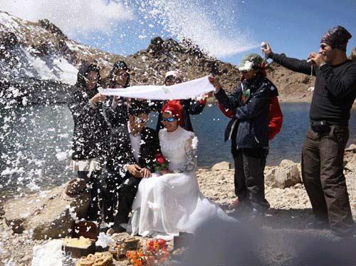 مراسم عروسی در سبلان، گزارش تصویری