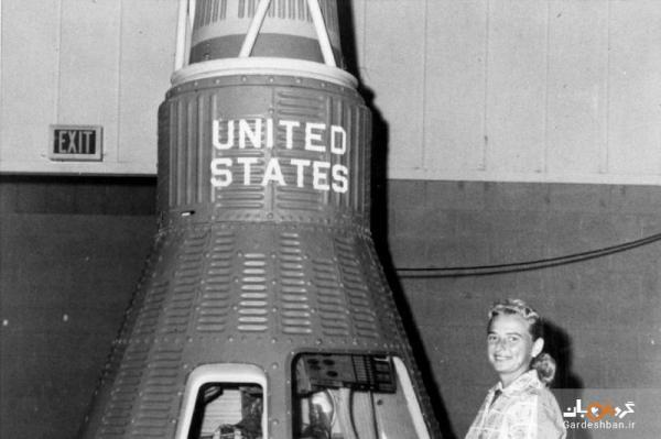عکس، اولین کارآموز فضانورد زن درگذشت