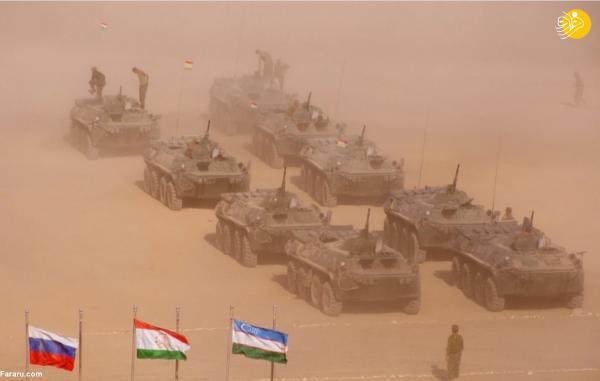 رزمایش نظامی روسیه، تاجیکستان و ازبکستان