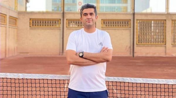 یک مربی کرمانی در رأس تیم ملی تنیس