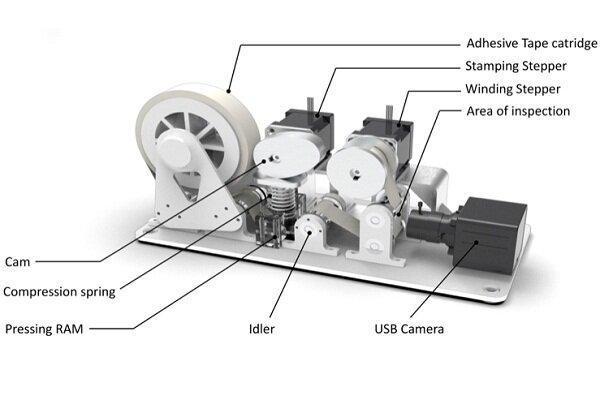 ابزاری که اندازه آلودگی کف زمین را به ربات ها اطلاع می دهد